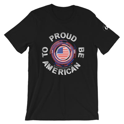 Proud to be American - Short-Sleeve Unisex T-Shirt