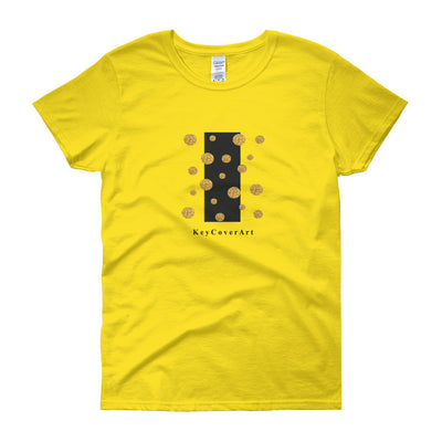 Golden Dots - Women's short sleeve t-shirt - Gildan