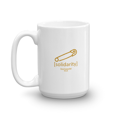 Solidarity Mug White glossy 15 oz