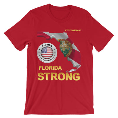 Florida Strong - Short-Sleeve Unisex T-Shirt - All Proceeds will be Donated!