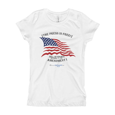 The Press is Free - Girl's T-Shirt - Next Level