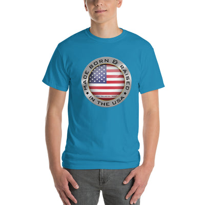 Made Born and Raised in the USA - Short-Sleeve T-Shirt