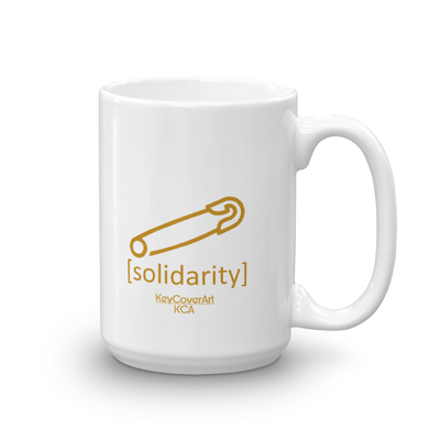 Solidarity Mug White glossy 15 oz US