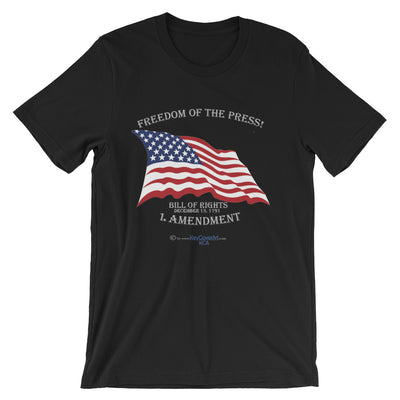 Freedom of the Press - Short-Sleeve Unisex T-Shirt