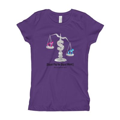 Equal Pay for Equal Work Girl's T-Shirt