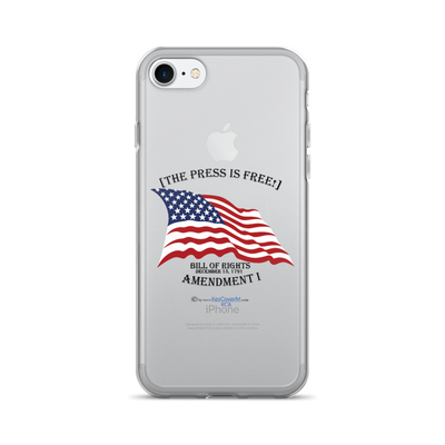 The Press is Free - iPhone 7/7 Plus Case