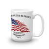 The Speech is Free - Mug - made in the USA