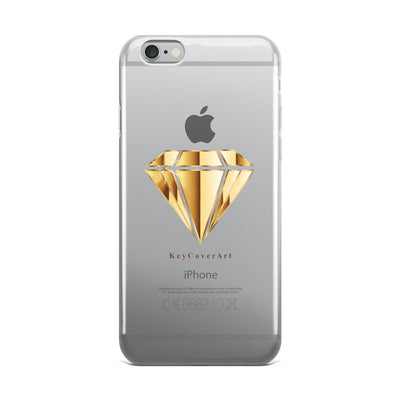 Golden Diamond - iPhone 5/5s/Se, 6/6s, 6/6s Plus Case