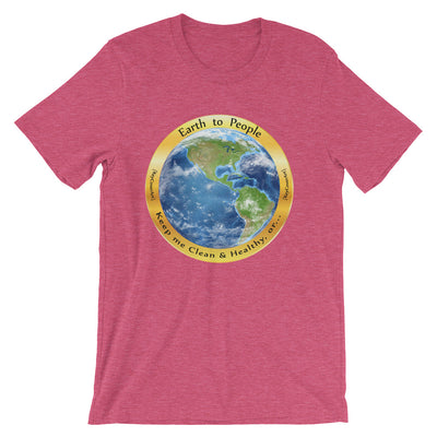 Earth to People - Short-Sleeve Unisex T-Shirt
