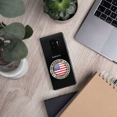 Made Born and Raised in the USA - Samsung Case