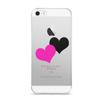 Pink Heart - iPhone 5/5s/Se, 6/6s, 6/6s Plus Case