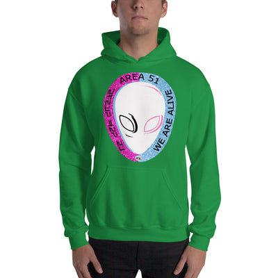 Area 51 - We are Alive - Hooded Sweatshirt
