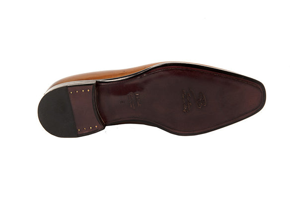 "Penny Loafer ~ ""Picasso"" Cognac"
