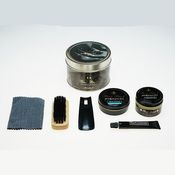 shoe care products. www.justsostyle.net
