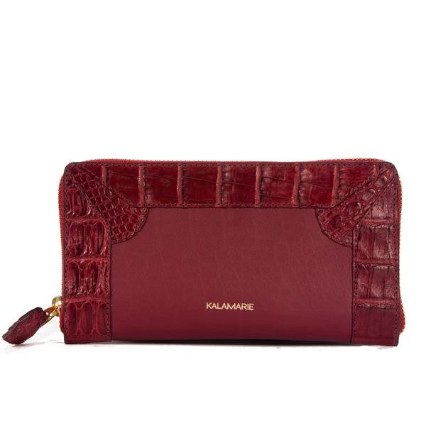 Rose Zipped Purse - Kalamarie - JustSoStyle