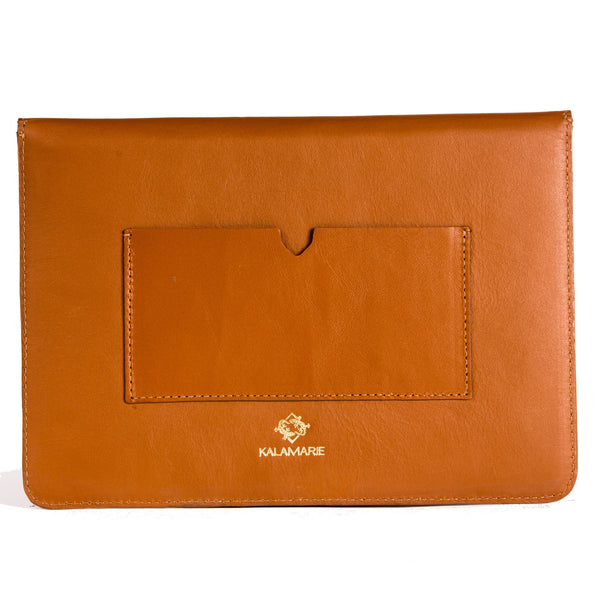 Allie Mini Clutch Cognac - Kalamarie - JustSoStyle