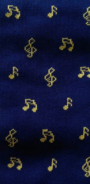 Article 50. Musical Notes socks warm cotton. - Barbera - JustSoStyle