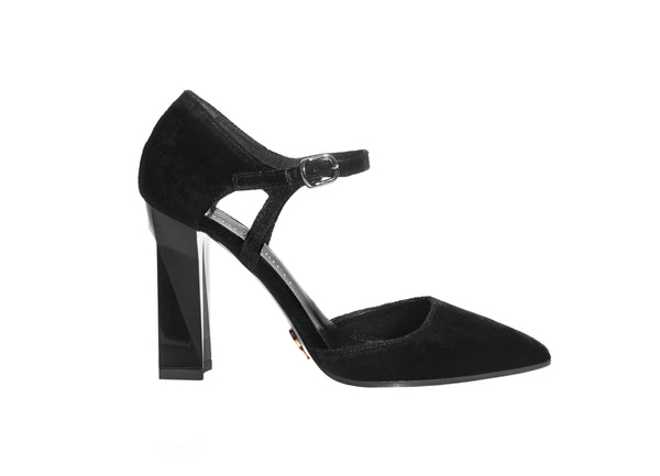 women's, luxurious, slingback pumps. www.justsostyle.com