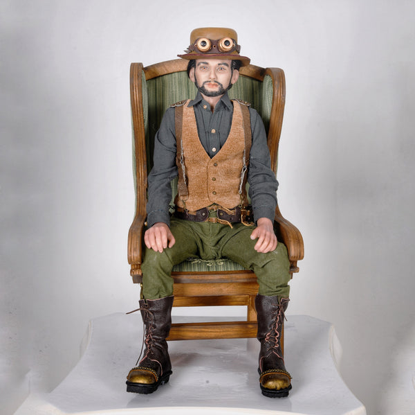 """William"" ~ Designer doll in the style of steampunk"