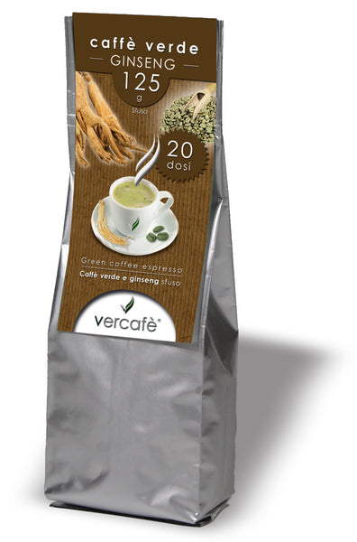 Vercafè Ginseng. Ground ~ 125g.
