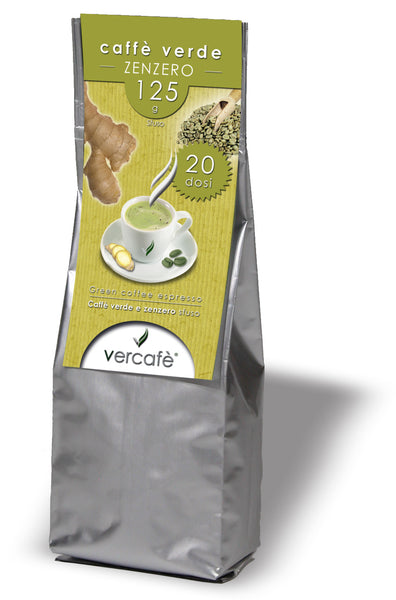 Vercafè Ginger. Ground ~ 125g.