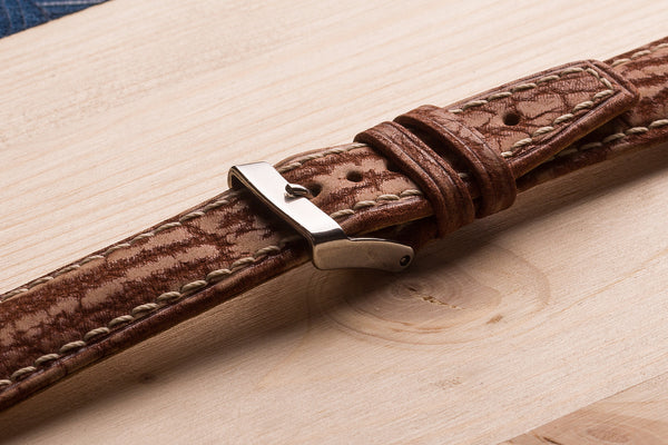 watch straps from alligator nubuck. www.justsostyle.net