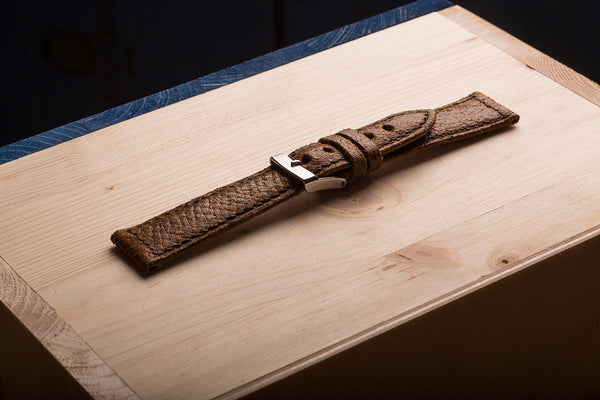 watch strap from horsefront skin. www.justsostyle.net