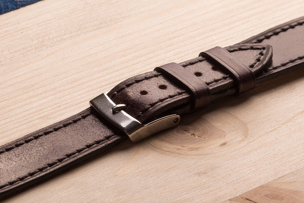 watch straps from cordovan leather. www.justsostyle.net