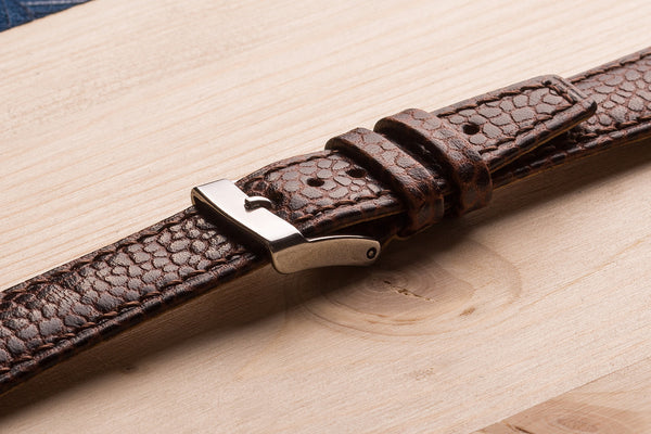 watch strap from fjord calf leather. www.justsostyle.net