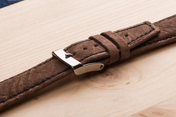 watch straps from Elephant leather. www.justsostyle.net