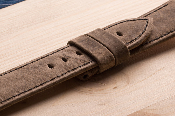 watch straps from Kudu leather. www.justsostyle.net