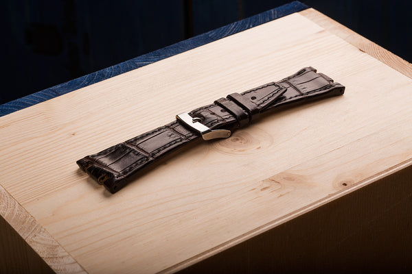 watch straps for Audemars Piquet from Alligator skin.  www.justsostyle.net