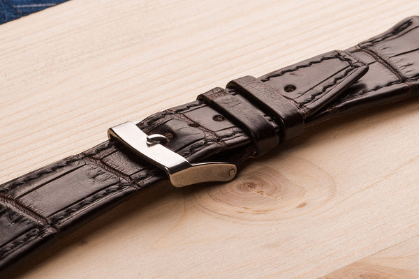 watch straps for a Audemars Piquet from Alligator skin.  www.justsostyle.net