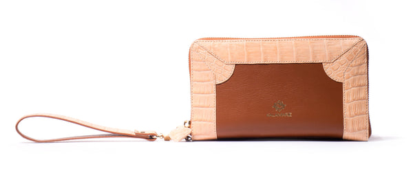 Rose Zip-Around Purse - Kalamarie - JustSoStyle