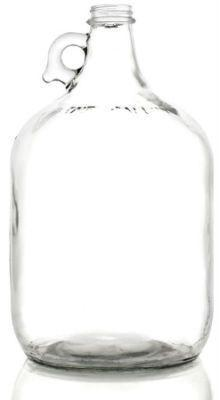 1 Gallon Clear Glass Growler - Homebrew Supplies in Vermont