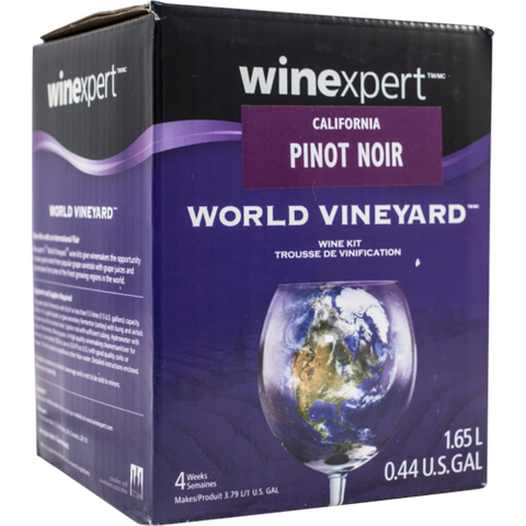 1 Gallon Wine Kit - California Pinot Noir - Homebrew Supplies in Vermont