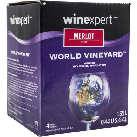 1 Gallon Wine Kit - Chilean Merlot - Homebrew Supplies in Vermont