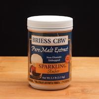 Briess CBW® Sparkling Amber LME Single Canister 3.3 lb - Homebrew Supplies in Vermont