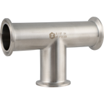 ForgeFit® Stainless Tri-Clamp Tee - 1.5 in. - Homebrew Supplies in Vermont