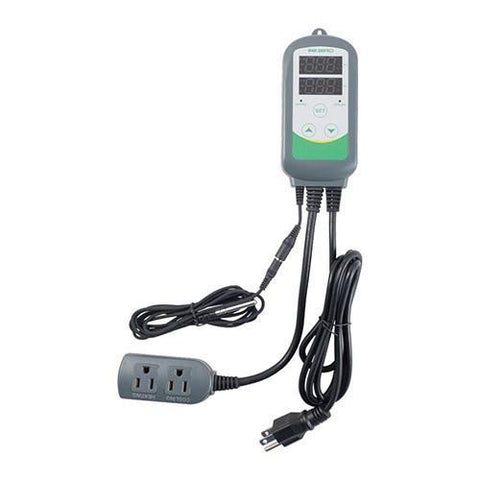 Inkbird Dual Stage Digital Temperature Controller programable - Homebrew Supplies in Vermont