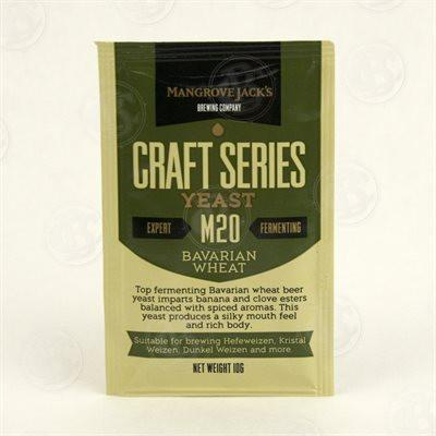 Mangrove Jack's Bavarian Wheat Dried Yeast M20 - Homebrew Supplies in Vermont