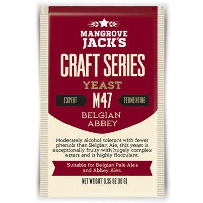 Mangrove Jack's Belgian Abbey Dried Yeast M47 - Homebrew Supplies in Vermont