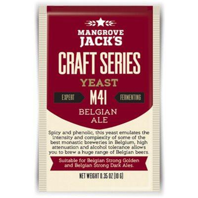 Mangrove Jack's Belgian Ale Dried Yeast M41 - Homebrew Supplies in Vermont