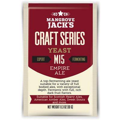 Mangrove Jack's Empire Ale Dried Yeast M15 - Homebrew Supplies in Vermont
