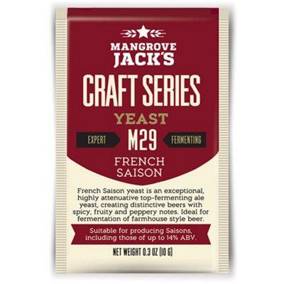 Mangrove Jack's French Saison Dried Yeast M29 - Homebrew Supplies in Vermont