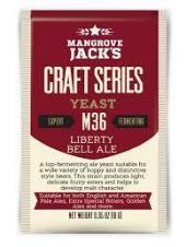 Mangrove Jack's Liberty Bell Dry Yeast M36 - Homebrew Supplies in Vermont