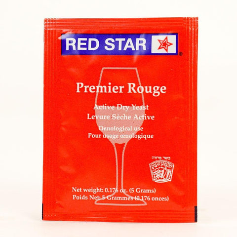 Red Star Premier Rouge Red Dry Yeast - Homebrew Supplies in Vermont