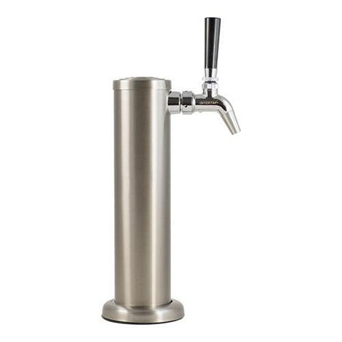 Stainless Steel Draft Tower with Intertap Faucet - Single Tap - Homebrew Supplies in Vermont