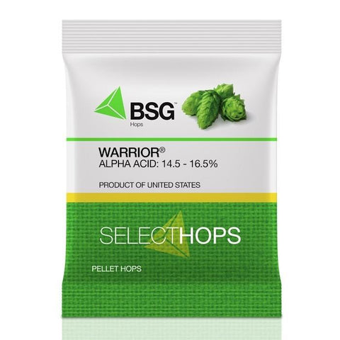Warrior Hops - Vermont Homebrew Supplies