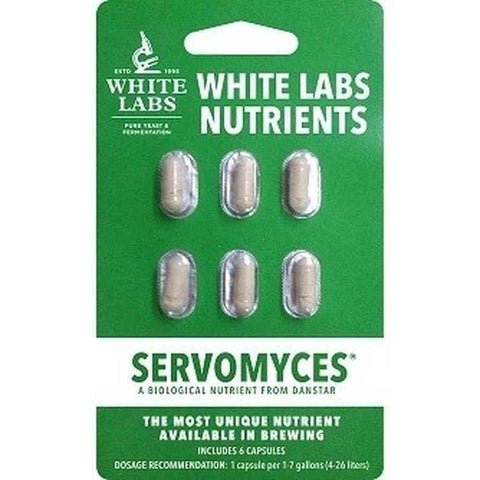 White Labs Servomyces Blister Packs - Homebrew Supplies in Vermont